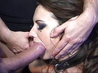 Swallowed Messy Blowjob With Adriana And Kayla